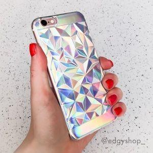 Holographic Diamond iPhone Case